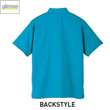 00331-ABP/4.4oz ドライボタンダウンポロシャツ