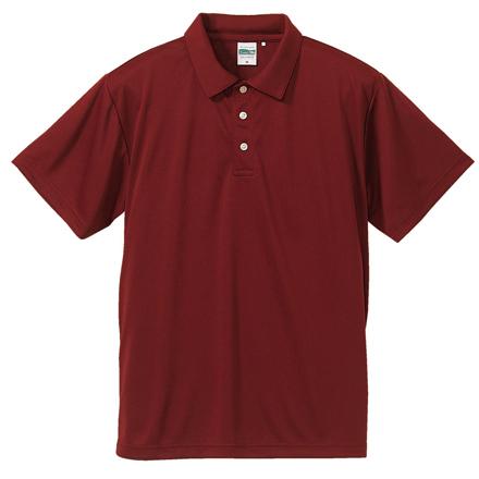 5090-01/4.7oz ドライシルキータッチポロシャツ